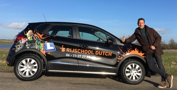 Rijlesen auto Rijschool Dutch Krommenie