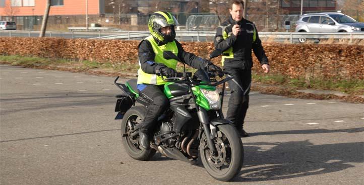 Rijlesen motor Rijschool Dutch Krommenie